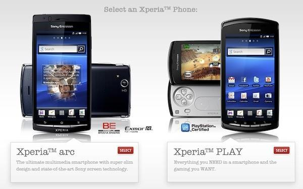Rogers puts Sony Ericsson Xperia Play and Arc up for pre-order