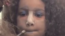 Kim Kardashian tells mom shamers to relax after posting video of 5-year-old 'contour queen' North West in makeup