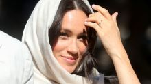 Meghan Markle dresses respectfully in headscarf to visit South Africa's oldest mosque
