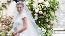 "Pippa Middleton Nails the Whole ""Looking Like a Princess at Your Wedding Day"" Fantasy"