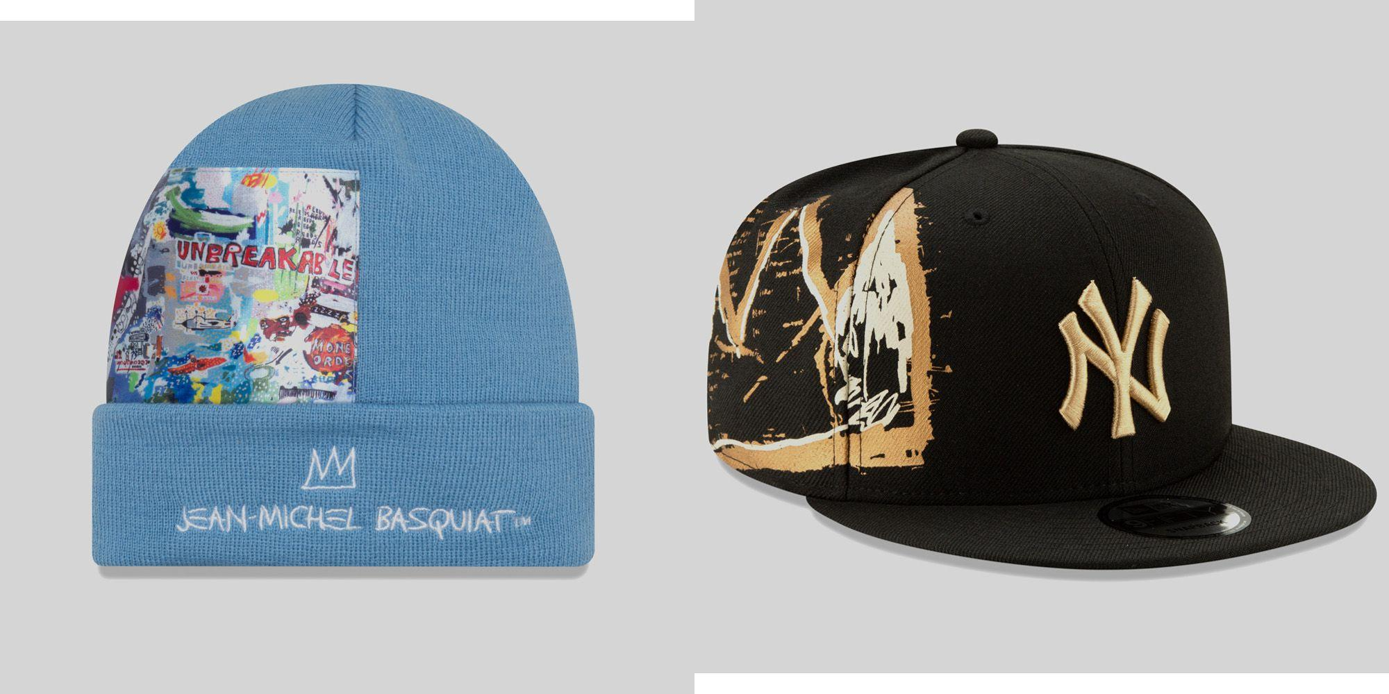 8e25880a99d An Exclusive First Look at New Era s (Very Artistic) Basquiat Hats