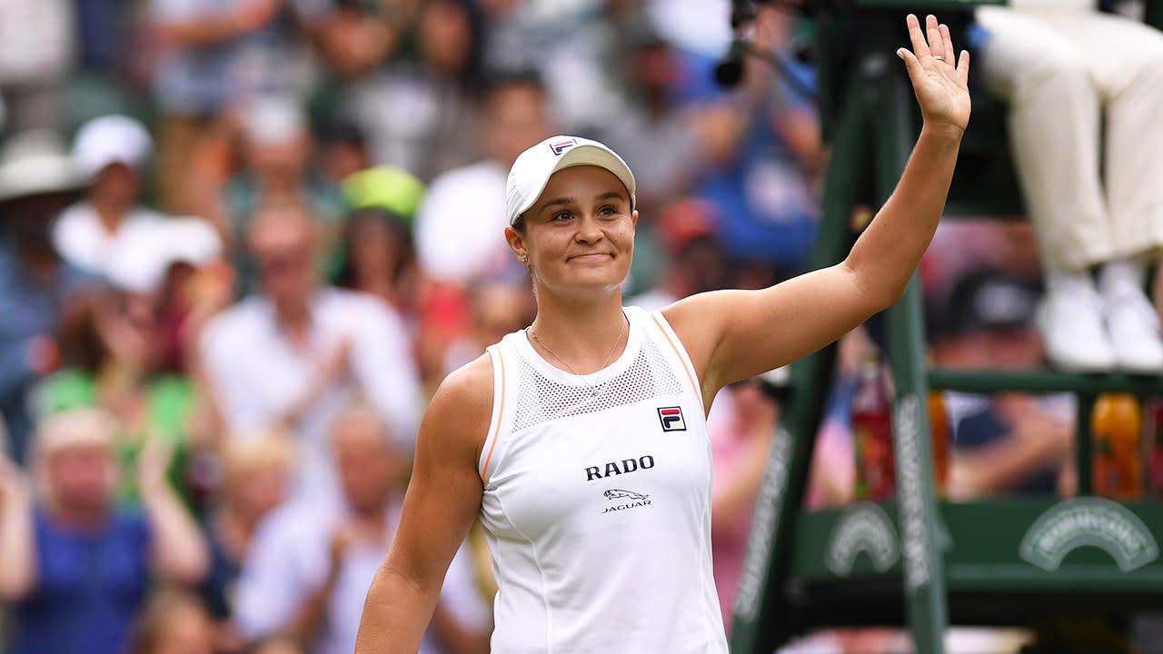 Ash Barty's huge slice of luck after shock Wimbledon loss