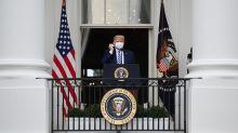 Trump lidera su primer acto público después del COVID-19 con mensaje para negros e hispanos