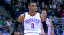 Russell Westbrook 'discount double-checked' Steve Novak, and Milwaukee wouldn't have it