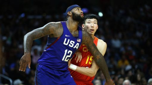 USA romp past China in Rio basketball warm-up