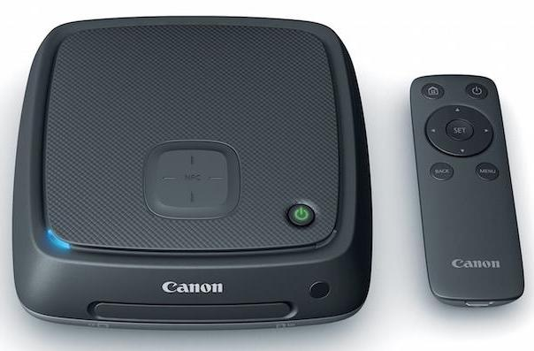 Canon's new media station keeps your photos and videos in one place