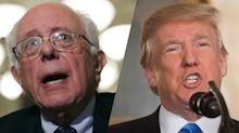 Bernie Sanders thinks Trump should consider resigning over sexual misconduct