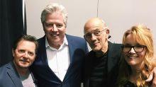 Las estrellas de Back to the Future protagonizan el reencuentro de cine soñado