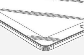Patent illustrations hint at double-dock iPad, touch-based corner button