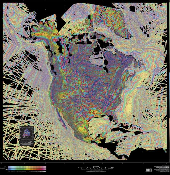 Weird Magnetic Anomaly Reveals Ancient Tectonic Crash