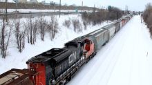 Thousands of Canadian National Railway workers go on strike