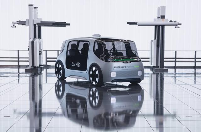 Jaguar Land Rover unveils autonomous EV concept for urban transit