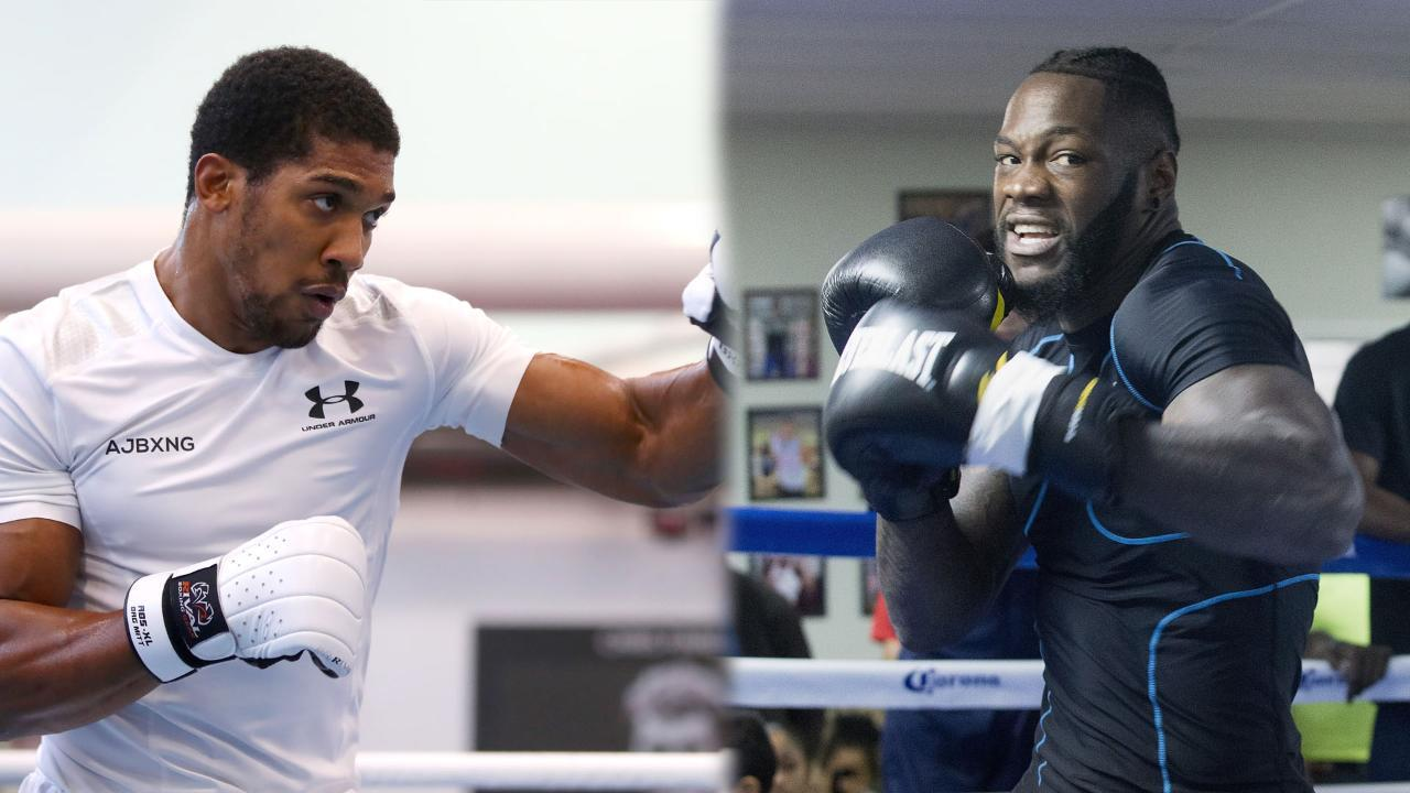 Anthony Joshua: I'll Be Undisputed Champ if Deontay Wilder Wants to Fight