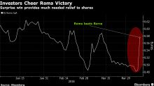 Roma Shares Surge After Stunning Victory Against Barcelona
