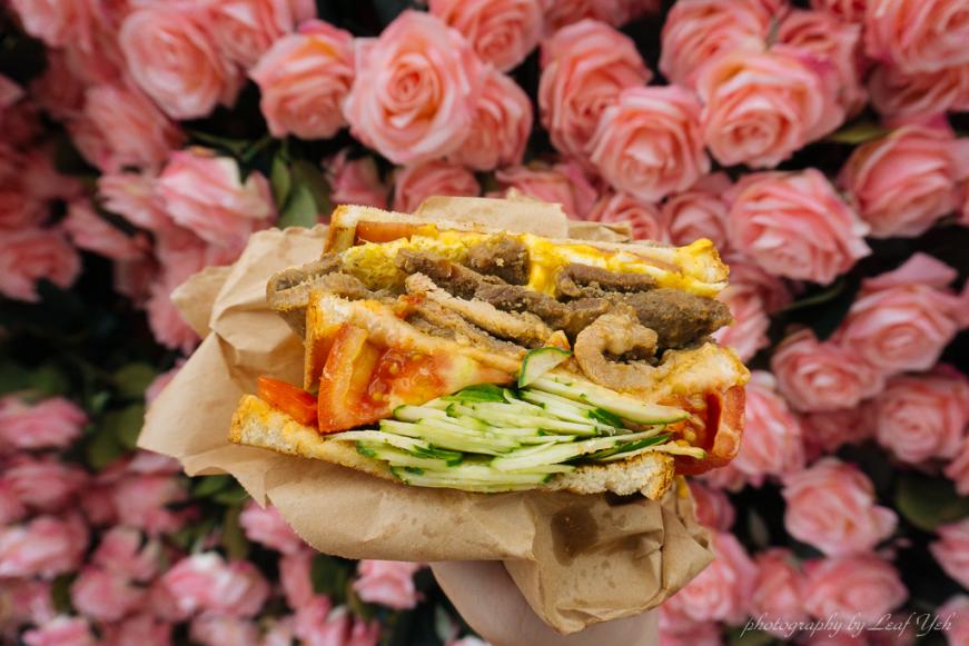 阿姐的店碳烤三明治,台北碳烤三明治推薦,光華商場美食街,光華商場必吃,光華商場周邊美食,光華商場碳烤三明治,光華商場早餐,忠孝新生光華商場美食,光華商場小吃,阿姐ㄟ店碳烤三明治