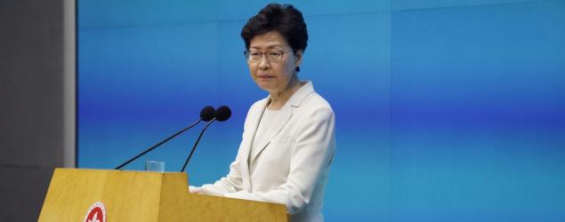 特首:國安法幫香港走出困局