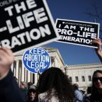 Abortion, free expression in conflict at top US court
