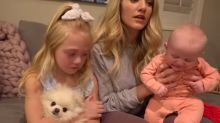 YouTube stars slammed for telling 6-year-old daughter they're giving away her dog in April Fools' Day prank