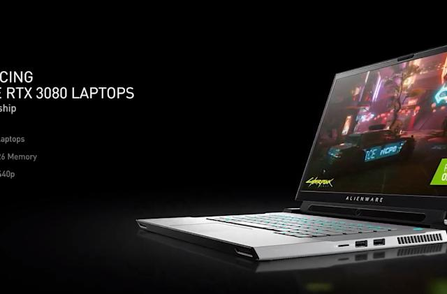 NVIDIA's RTX 30 series GPUs are heading to laptops on January 26th