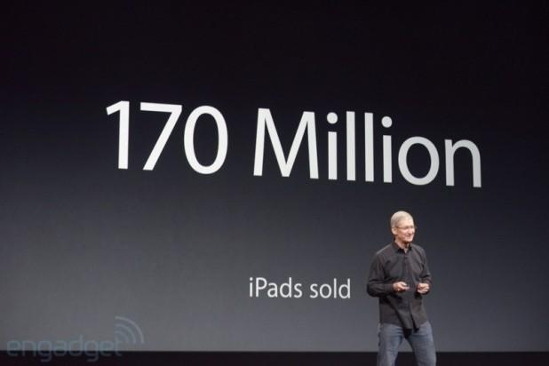 Apple: 170 million iPads sold to date