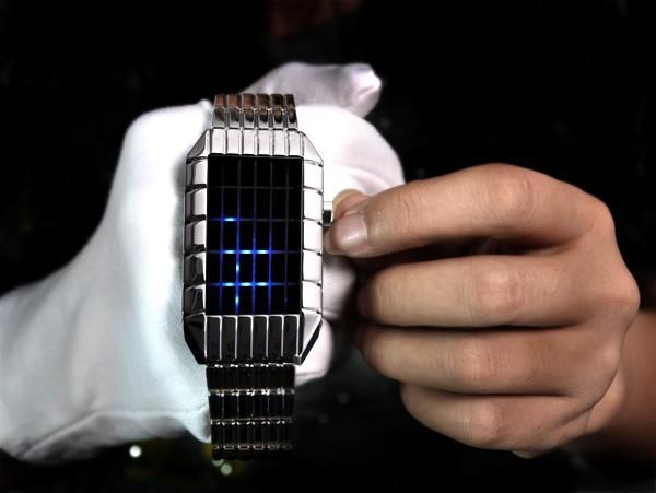 Timescape Sci-Fi watch makes you work for the time of day, looks good doing it (video)