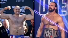 Tyson Fury told 'mega-fight' with WWE champion Drew McIntyre would break records