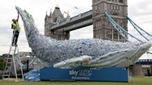 A Huge Plastic Whale Has Been Unveiled In London For This Important Reason