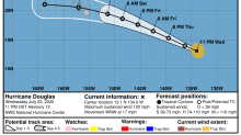 Triple tropical trouble: Douglas, Gonzalo and Tropical Depression 8 threaten US, Caribbean