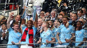 Manchester City thrash Watford to win the FA Cup and secure unprecedented domestic treble