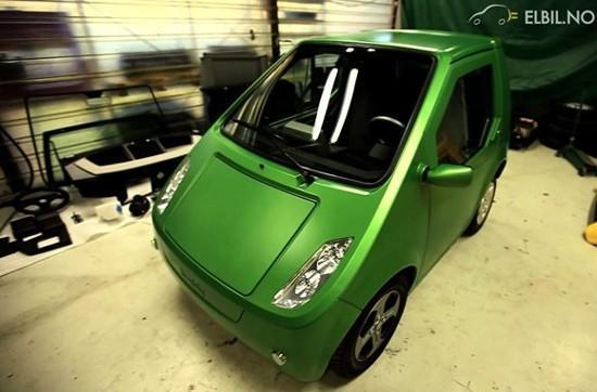 METROBuddy electric car debuts, kind of resembles a mail van
