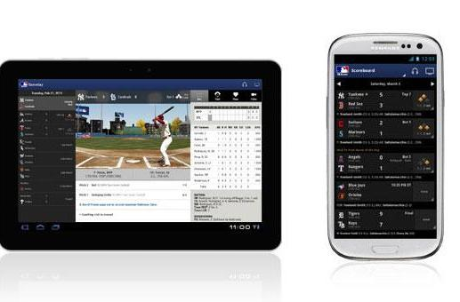 MLB At Bat 2013 app warms up for spring training, starts pitching in BB10's bullpen