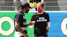 Hamilton backs Vettel to recover from Ferrari 'rough patch' at Aston Martin
