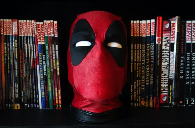 Deadpool's animatronic head haunts my dreams