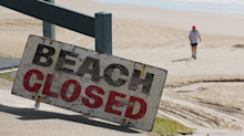 Southern California beach closed again after four sharks spotted