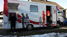 In rural Germany, 'mobile banking' means a bank on a truck