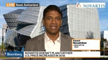 Novartis CEO Says It's `Prudent' to Pull Back From Further Price Increases