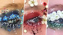 This 19-Year-Old Makeup Artist Is Making Terrarium Eyes a Thing