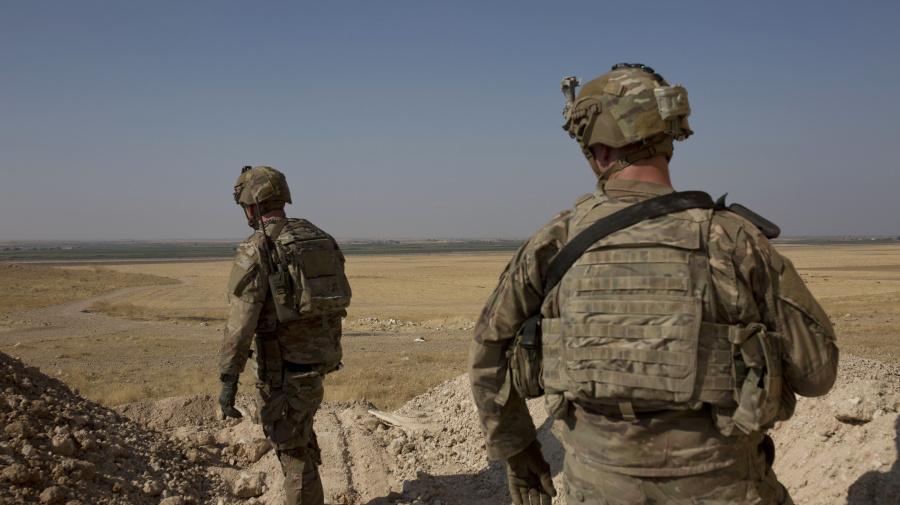U.S. troops to leave northern Syria: Pentagon