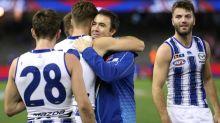Scott farewells Roos in emotional AFL win