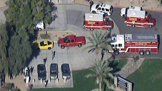 Search for suspect after shooting at Phoenix office complex