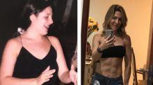 Mãe de Lucas Lucco mostra antes e depois do corpo: 'Por mim e mais ninguém'