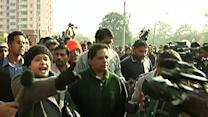 Raw: Protest As India Rape Suspects Go to Court