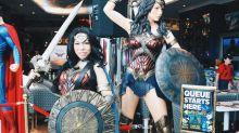 Wonder Woman takes over DC Comics Super Heroes Cafe at Marina Bay Sands