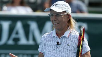 LGBT group cuts ties with Navratilova