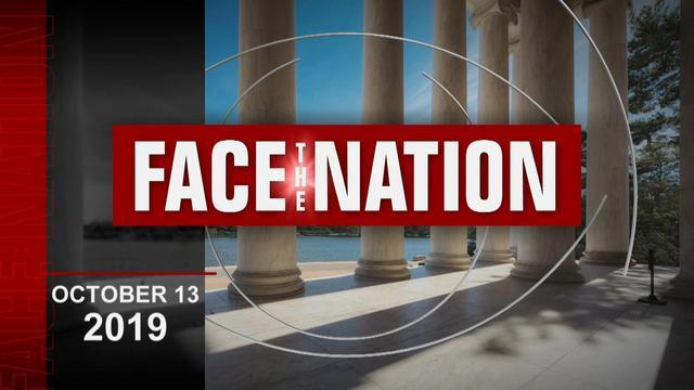 "Open: This is ""Face the Nation,"" October 13"