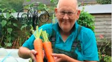 'Vegetable King', 72, whose oversized produce went viral, shares advice for novice gardeners