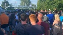 Two arrested on suspicion of attempted murder after Thorpe Park stabbing