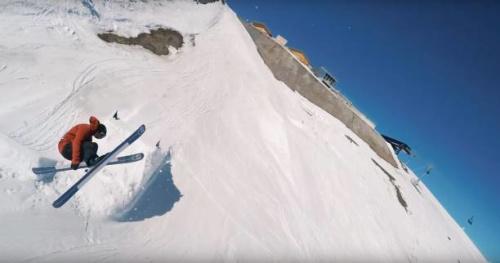 Ski - Vidéo : une solution facile pour remplacer un drone, selon Nicolas Vuignier