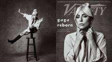 Las fotos de Lady Gaga sobre un taburete generan burlas en Twitter por resultar algo familiares