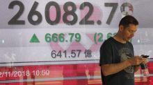 World stock markets rally on news of Trump-Xi talks